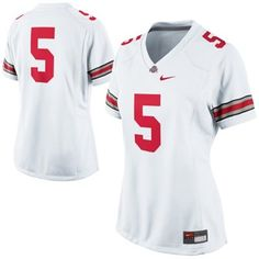 875db22dd With miller on back  ) Nike Ohio State Buckeyes Ladies Game Football Jersey  - White
