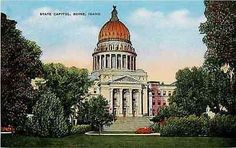 Boise Idaho ID 1950s State Capitol Collectible Antique Vintage Postcar – Moodys Vintage Postcards