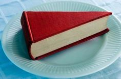 Alright, the only combination better than books and fashion: books and food! I am a huge baker and love the idea of this cute book cake slice, taken by David Malan. Perhaps this is the next cake challenge I will take on! I Love Books, Books To Read, My Books, Face Books, Buch Design, Book Binding, Book Nooks, Altered Books, Altered Art