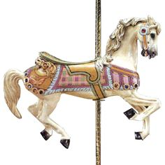 Carousel Horse....bought a plastic one to paint and mount in beau's room!