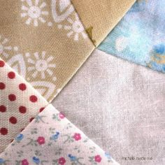 Quilt Block Piecing Trick For Matching Seams.