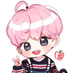 wanna one chubby Bts Chibi, Cute Anime Chibi, Kawaii Chibi, Jimin Fanart, Taehyung Fanart, Kpop Fanart, Kpop Drawings, Kawaii Drawings, Dibujos Cute