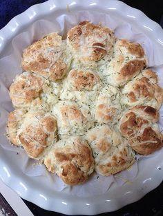 Gluten Free Pull-Aparts:  Garlic & Parmesan or Pizza Pull Aparts