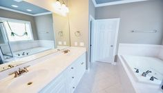 and services by Platinum Pro Painters House Painting Tips, Good House, Calgary, Corner Bathtub, Alcove, Bathroom, Painters, Washroom, Corner Tub