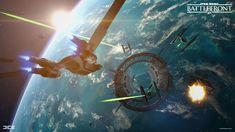 ArtStation - Star Wars Battlefront 2015: Rogue One: Scarif - U-Wing, Carl Palacios
