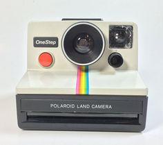 Polaroid Land Camera One Step Rainbow vintage by VintageRerun