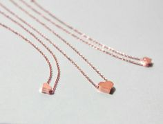rose gold generations necklaces