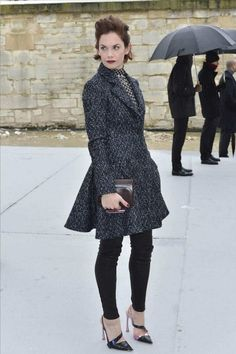 Ruth Wilson in Dior