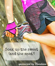 Handana - soak up the sweat (Plus discount code) #FitFluential