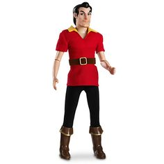 Gaston Classic Doll - Beauty and the Beast - 12'' | His head seems too big for his body. lol