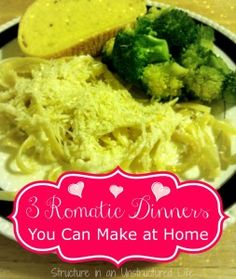 Romantic Dinners You Can Make at Home - Structure in an Unstructured Life