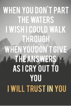 Always (Lauren Daigle - trust in you)