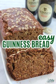 Guiness Bread, Guinness Bread Recipe, Guinness Recipes, Just Desserts, Dessert Recipes, Asian Desserts, Bread Recipes, Baking Recipes, Bread Winners