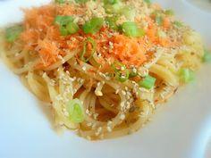 Fűszeres thai tészta Ethnic Recipes, Food, Essen, Meals, Yemek, Eten