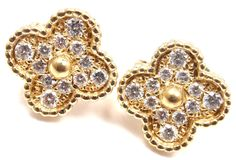 This just in. We are excited to add Authentic! Van Cl... to our inventory, It looks amazing. Check it out here!http://fortrove.com/products/authentic-van-cleef-arpels-vintage-18k-yellow-gold-diamond-alhambra-earrings?utm_campaign=social_autopilot&utm_source=pin&utm_medium=pin