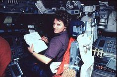 Eileen Collins is famous for being the first woman astronaut to pilot and command a space shuttle. But before entering NASA, Collins served as a member of the U.S. Air Force. She joined the military with dreams of serving as a pilot at a time when opportunities for women to do so were just starting to open up. At the age of 23, she became the Air Force's first female flight instructor and went on to fly C-141 cargo planes overseas.