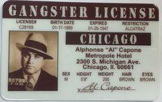 62b3d0f0c68  3.99 - Al Capone - Gangster License - Chicago