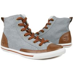 Trendy Women's Sneakers :   Fab.com   High Top Vintage Women's Khaki    - #Women'sshoes