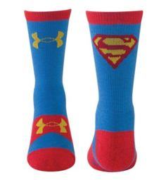 Kids' Under Armour Alter Ego Superman Crew Socks