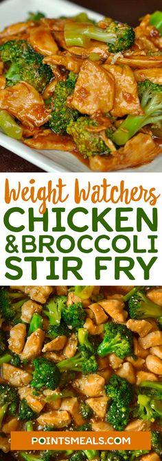 Chicken and Broccoli Stir Fry (WEIGHT WATCHERS SMARTPOINTS)