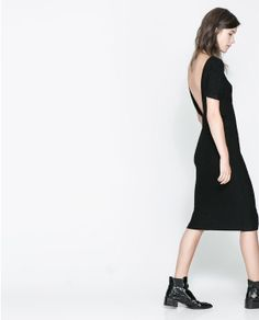 Image 2 of BACKLESS DRESS from Zara