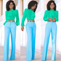 Love this look- the colors and style!