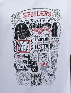 Camiseta Spoilers Óbvios - Masculina