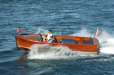1947 Chris-Craft 18' Sportsman Chris Craft Boats, Wood Boats, Classic, Crafts, Style, Derby, Swag, Wooden Boats, Manualidades