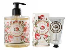 PANIER DES SENS Rose Liquid Marseille Soap and Hand Cream Set >>> Amazon most trusted e-retailer #OrganicSoap