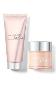 Obsessed with this two-piece collection by RéVive that includes hand and neck renewal cream.