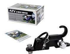 Komodo ATV3WH22 ATV 3-Way Receiver Hitch with 2 Hitch Ball « AUTOMOTIVE PARTS & ACCESSORIES AUTOMOTIVE PARTS & ACCESSORIES