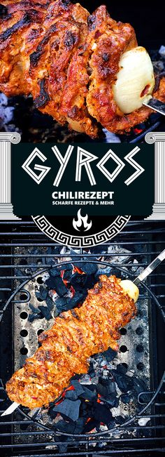 Gyros vom Grill Tavuk tarifleri – The Most Practical and Easy Recipes Barbecue Recipes, Grilling Recipes, Beef Recipes, Grilling Tips, Healthy Recipes, Gyro Recipe, Quesadilla Recipes, Le Diner, Grilled Chicken Recipes