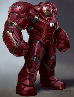 Check Out Unused 'Hulkbuster' And 'Ultron' Designs From AVENGERS: AGE OF ULTRON