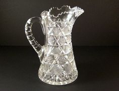 ABP American Brilliant Period Cut Glass Pitcher / by Successionary
