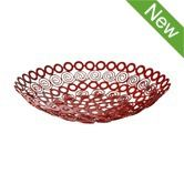 Bowls & Dishes | Fair Trade Kitchenware Recycled Ringlets Metal Bowl Red $24.95  To place an order for this beautiful kitchen item, click on the link below www.oxfamshop.org.au #oxfam #oxfamshop #fairtrade #shopping #kitchen #kitchenware
