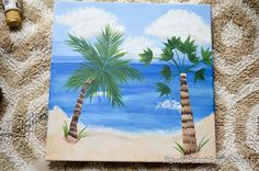 Easy and fun, How to Paint a Tropical Beach Scene. This fun to paint scene will wisk you away to warm weather and soft ocean breezes. This free painting tutorial is great for everyone to try, even the kids. Beach Images, Beach Pictures, Free Pictures, War Photography, Types Of Photography, Beach Flowers, Close Up Portraits, Tropical Beaches, Beach Scenes