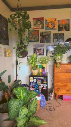 Indie Bedroom, Indie Room Decor, Cute Room Decor, Aesthetic Room Decor, Room Design Bedroom, Room Ideas Bedroom, Bedroom Decor, Bedroom Inspo, Chambre Indie