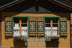 Painted Houses Austria   boat house at lake lunzer see , austria lower austria , mostviertel ...