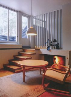 Finnish architect and designer Alvar Aalto designed nearly one hundred single-family houses. Interior Architecture, Interior And Exterior, Chinese Architecture, Futuristic Architecture, Alvar Aalto, Interior Decorating, Interior Design, Home And Deco, Home And Living