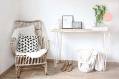 White wood scandinavian decoration Décoration scandinave blanche et bois