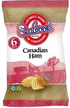 Seabrook crinkle cut crisps    Canadian Ham flavour    6pk    Tesco price £1.70    BB to follow | Shop this product here: http://spreesy.com/DiscountFoodsofLincoln/315 | Shop all of our products at http://spreesy.com/DiscountFoodsofLincoln    | Pinterest selling powered by Spreesy.com