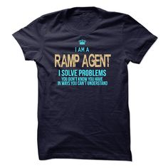 I Am A Ramp Agent T-Shirts, Hoodies. BUY IT NOW ==► https://www.sunfrog.com/LifeStyle/I-Am-A-Ramp-Agent-42088616-Guys.html?id=41382