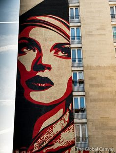 Shepard Fairey in Paris, France