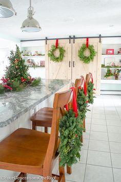 Christmas On Pinterest Christmas Home Deck The Halls And Christmas
