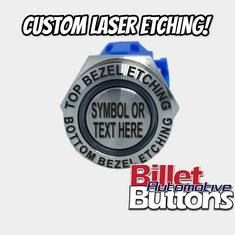 Custom laser etching available with a business day turnaround on all orders with worldwide shipping. Car Audio Installation, Types Of Buttons, Thing 1, Bold Fonts, Design Your Own, Simple Designs, Symbols, Messages, Classic Mini