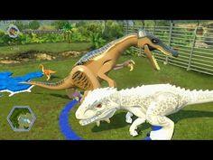 LEGO Jurassic World game  ALL dinosaurs demoed! - Best sound on Amazon: http://www.amazon.com/dp/B015MQEF2K -  http://gaming.tronnixx.com/uncategorized/lego-jurassic-world-game-%f0%9f%8e%ae-all-dinosaurs-demoed/