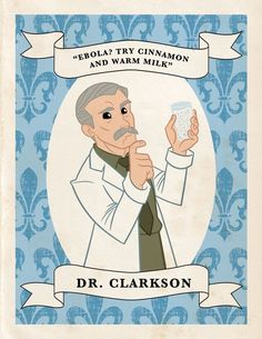 Oh, Dr. Clarkson!! [aside: if you haven't read Vanity Fair's Downton Abbey recaps, you should.]
