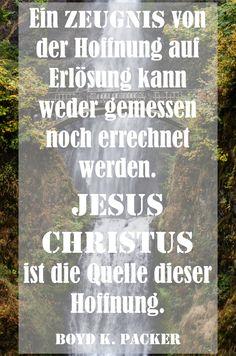 Jesus Christus ist die Quelle der Hoffnung