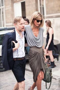 Sarah Rutson (Fashion director of Lane Crawford)
