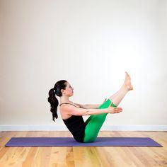 Quick ab yoga poses